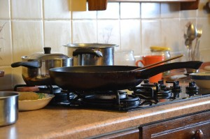 replace your toxic frying pan with an iron skillet