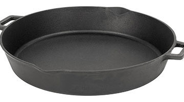 iron frying pan skillet pot